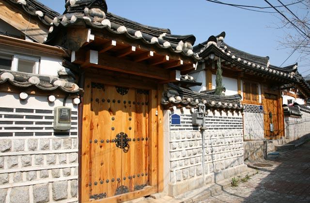 Traditional Houses, Bukchon Hanok Village