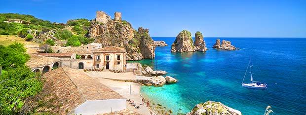 Tonnara di Scopello in Sicily Italy