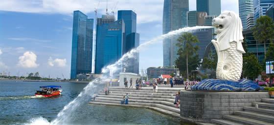 Singapore: Merlion Fountain