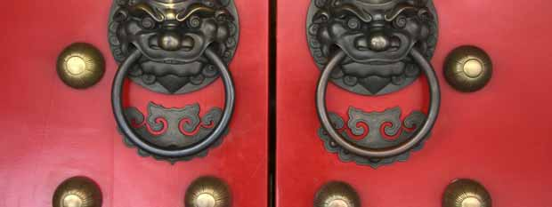 Singapore points of interest | Chinatown Temple Door