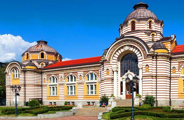 The Sofia Public Mineral Baths