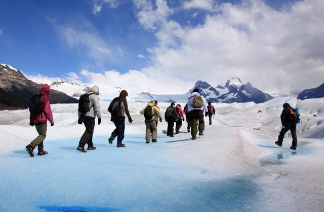 Trekking the Perito Mereno Glacier, Patagonia, Argentina