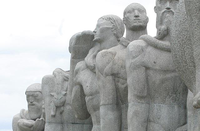 Bandeiras Monument, Sao Paulo, Brazil