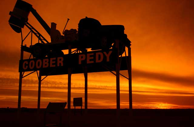 Welcome Sign, Coober Pedy