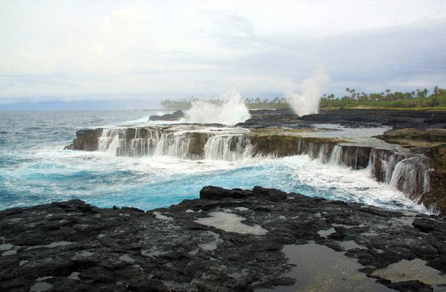 Coastline, Samoa