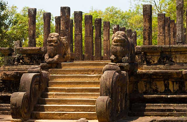 Front Audience Hall, Polonnaruwa Ruins