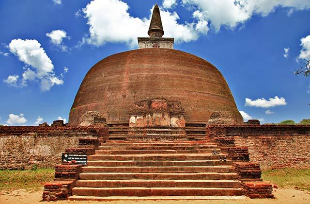 Polonnaruwa Ancient Stupa