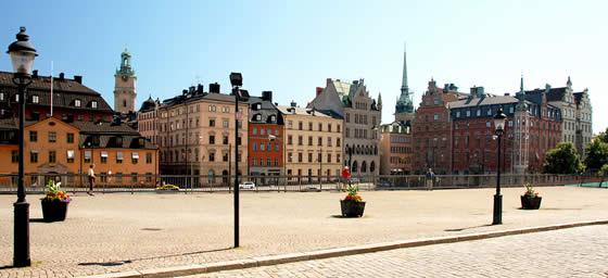 Stockholm: City Street