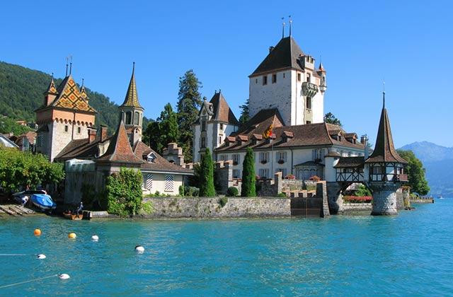 Oberhofen Castle, Lake of Thun