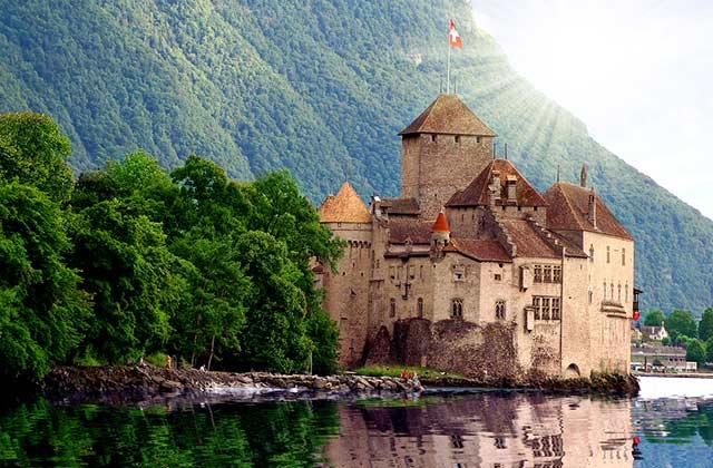 Château de Chillon, Lake Geneva, Montreux