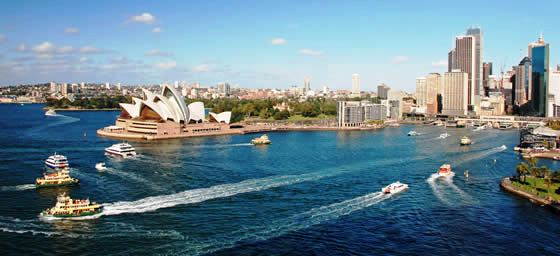 Holiday in Sydney: Sydney Harbour