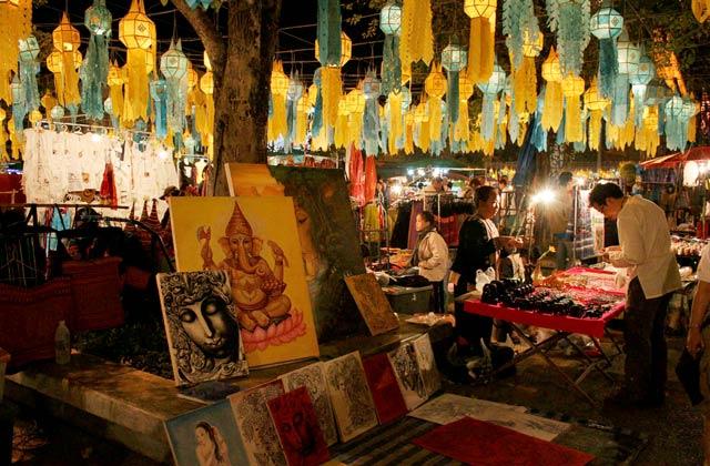 Night Bazaar, Chang Mai | by Flight Centre's Jillian Blair