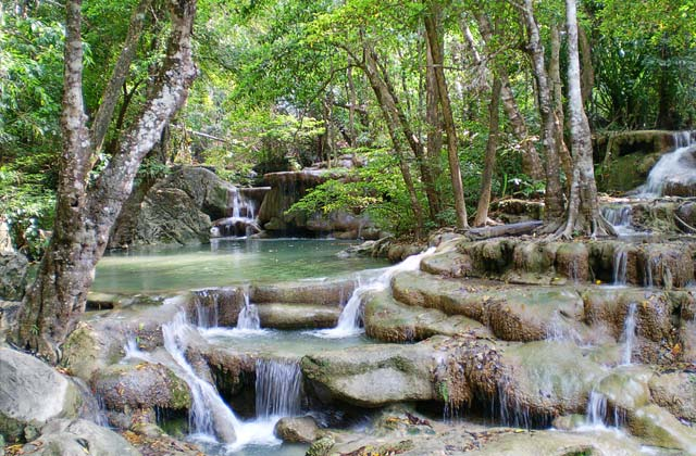 Kanchanaburi Waterfalls | by Flight Centre's Melissa Korhecz