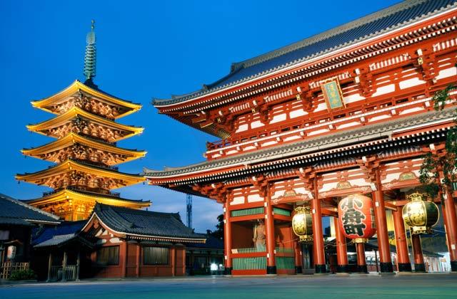 Senso Temple, Asakusa