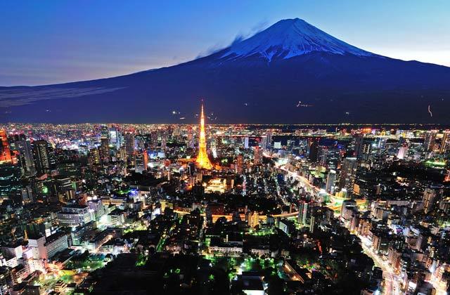 Mt Fuji, Tokyo