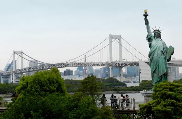 Statue of Liberty, Odaiba | by Flight Centre's Tiffany Apatu