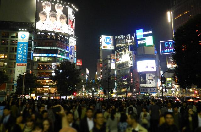 Shibuya Crosswalk at Night | by Flight Centre's Tiffany Apatu