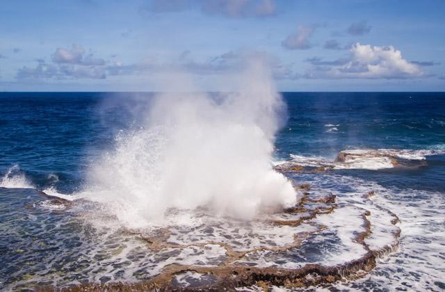 Blowhole, Tongatapu