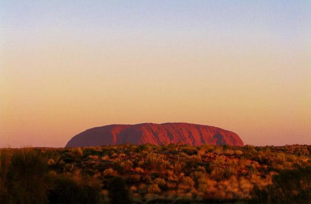 Sunset over Uluru | by Flight Centre's Leah McCosh