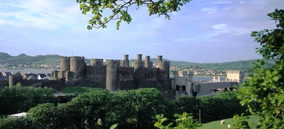 UK: Wales - Conwy Castle