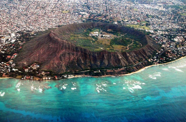 Diamond Head Crater, Hawaii