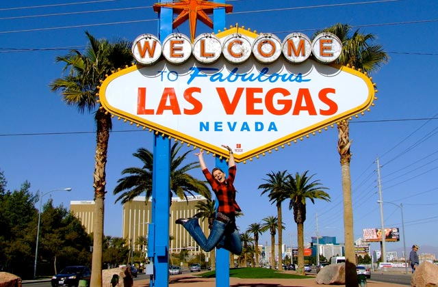 Las Vegas Welcome Sign, Las Vegas, Nevada | by Flight Centre's Karina McLean