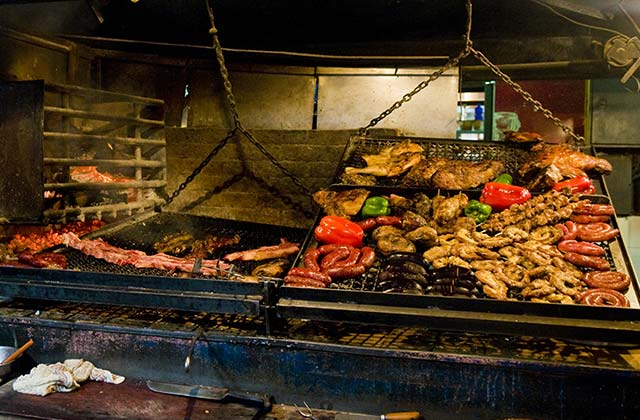 Traditional Uruguay Barbeque