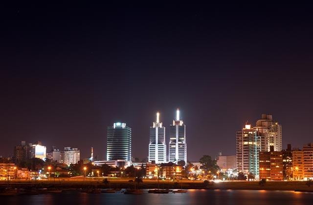 Skyline, Montevideo