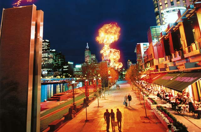 Fire Towers, Southbank, Melbourne