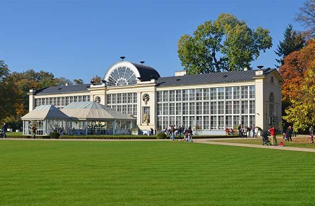 The Łazienki Palace