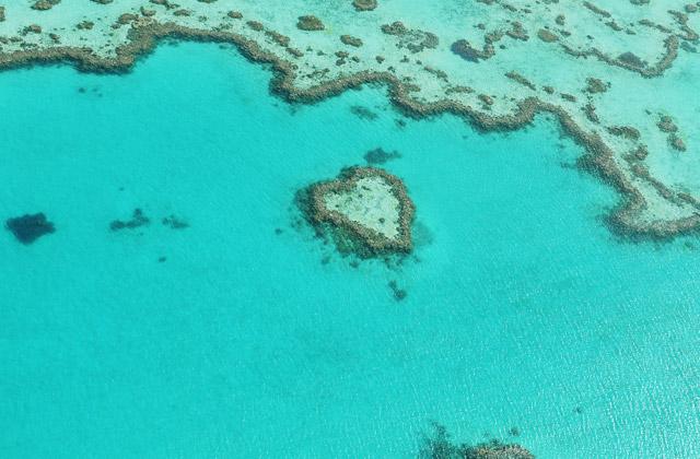Heart Reef, Whitsunday Islands, Queensland