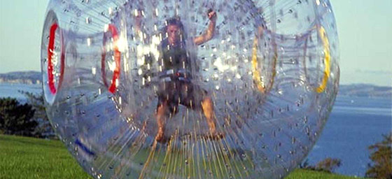 NZ & South Pacific: Zorbing in NZ