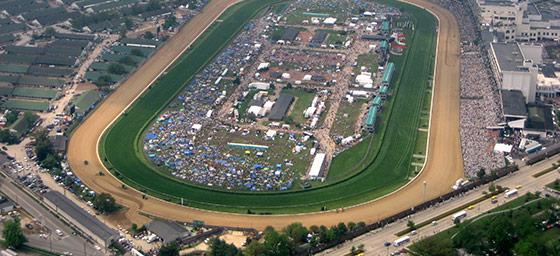 Horse Racing: Kentucky Derby Track