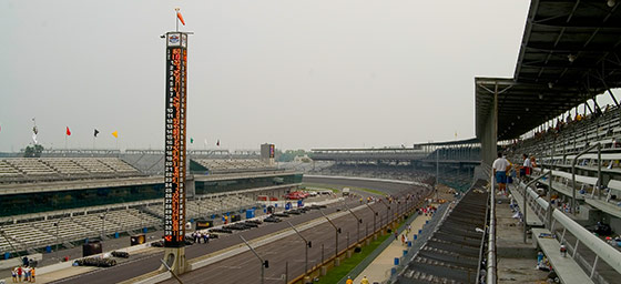 Motor Racing: Turn One of the Indy 500