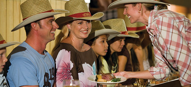Australian Outback Spectacular: Meal