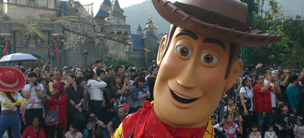 Theme Parks: Hong Kong Disney