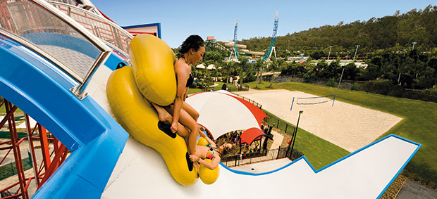 Queensland Theme Park: Kamikaze at Wet'n'Wild