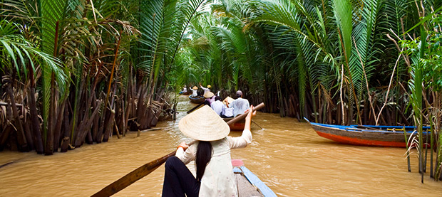 Travel the Mekong Delta in Vietnam