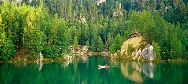 National Park of Adrspach, Czech Republic