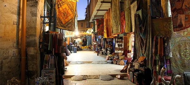 Shop the Souks of Israel