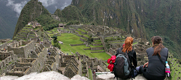 You've Arrived at Machu Picchu, Peru