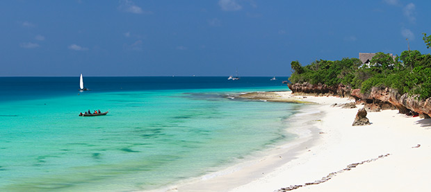 White Sand Beaches Await in Zanzibar