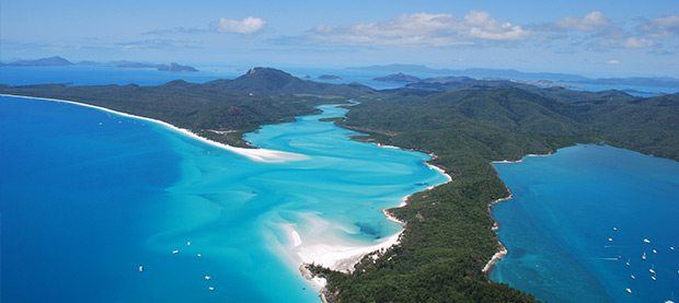 The Magnificient Whitsundays