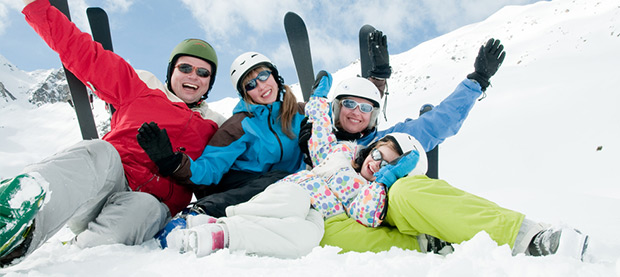 Hit the Slopes on a Family Ski Trip