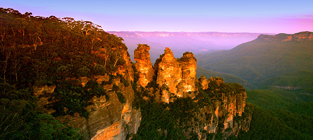Visit the Majestic Blue Mountains