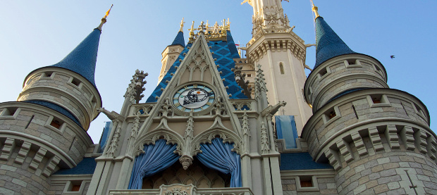 The magical Cinderella's Castle