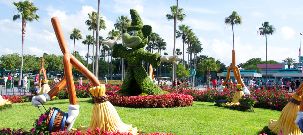Fantasia with a topiary spin
