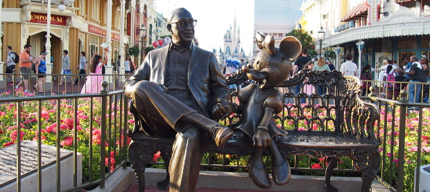 Walt and his best gal