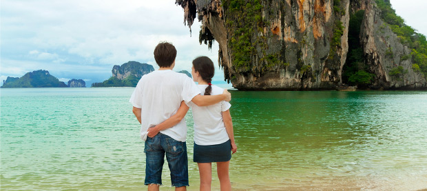 A Romantic Rendezvous in Thailand