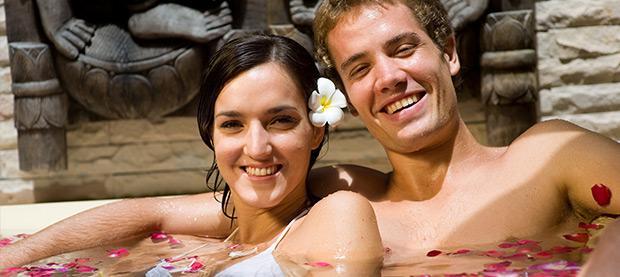 Romance in a Rose Petal Bath